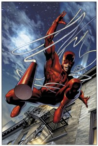 "In the comics, Matt Murdock a.k.a. Daredevil is known as ""The Man Without Fear."""